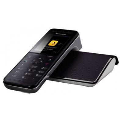 Радиотелефон Panasonic KX-PRW120 черный-белый (KX-PRW120RUW) panasonic kx tg8551 ruw