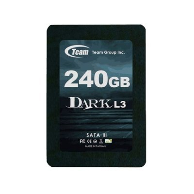 Накопитель SSD 2.5 240GB TEAM Dark L3 SATA-III (765441011564) (T253L3240GMC101)Накопители SSD Team Group<br>SSD диск для ноутбука и настольного компьютера<br>линейка Dark L3<br>объем 240 Гб<br>форм-фактор 2.5<br>интерфейс SATA 6Gb/s<br>