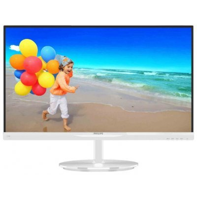 Монитор Philips 23 234E5QHAW (234E5QHAW (00/01))Мониторы Philips<br>23; 16:9; AH-IPS; LED; 1920x1080; 5 (GtG)ms; 20 000 000:1; 1 000:1; 250cd/m2; 0,265х0,265mm; 178/178 (C/R &amp;gt;10)°; 16,7ml; HDMIх1; MHL-HDMI; PC Audio In; Headphone Out;  D-sub; External Power Supply; VESA (100x100 мм); White<br>