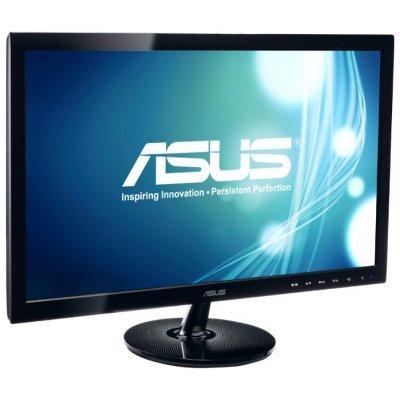 Монитор ASUS 21.5 VS229HA (90LME9001Q02231C-)Мониторы ASUS<br>VA, LED, 1920x1080, 5ms, 250 cd/m2, ASCR 80M:1, D-Sub, DVI-D (HDCP), HDMI, Headph.Out<br>