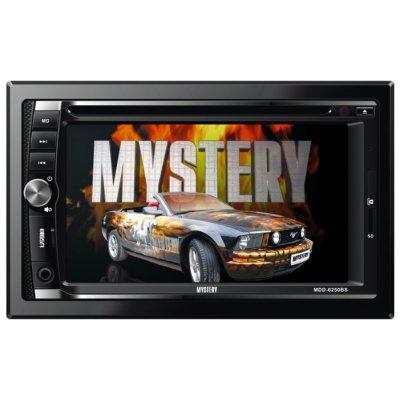 Автомагнитола Mystery MDD-6250BS (MDD-6250BS)Автомагнитолы Mystery<br>автомагнитола 2 DIN<br>DVD-проигрыватель<br>воспроизведение MP3, MPEG4<br>сенсорный дисплей 6.2<br>ТВ-тюнер<br>макс. мощность 4 x 50 Вт<br>воспроизведение с USB-накопителя<br>