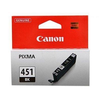 Картридж для струйных аппаратов Canon CLI-451XLBK (6472B001) черный (6472B001)Картриджи для струйных аппаратов Canon<br>для PIXMA iP7240/MG6340/MG5440<br>