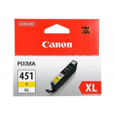 Картридж для струйных аппаратов Canon CLI-451XLY (6475B001) желтый (6475B001) hard drive 390 0122 05 3 5 73gb 10k scsi 8mb one year warranty