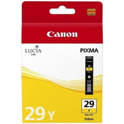 все цены на  Картридж для струйных аппаратов Canon PGI-29Y (4875B001) желтый (4875B001)  онлайн