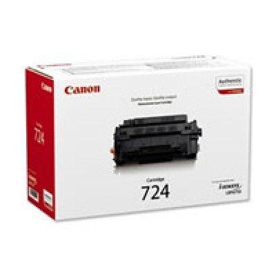 Тонер-картридж для лазерных аппаратов Canon 724 (3481B002) (3481B002)Тонер-картриджи для лазерных аппаратов Canon<br>для LBP6750Dn (6 000 стр)<br>