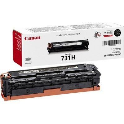 Тонер-картридж для лазерных аппаратов Canon 731HBK (6273B002) черный (6273B002)Тонер-картриджи для лазерных аппаратов Canon<br>LBP7780 (12000стр.)<br>