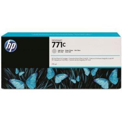 Картридж для струйных аппаратов HP 771C (B6Y38A) светло-серый (B6Y38A)Картриджи для струйных аппаратов HP<br>для HP Designjet Z6200 Printer series 775 мл, 3 шт. в упаковке<br>