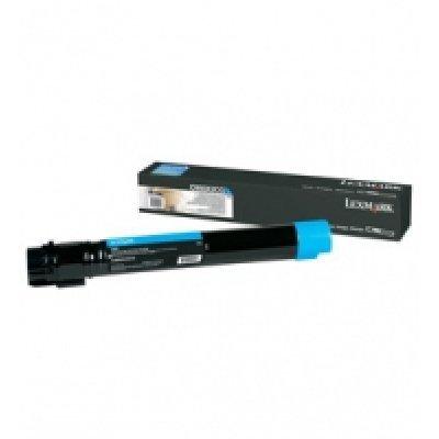 Тонер-картридж для лазерных аппаратов Lexmark C950X2CG голубой (C950X2CG)Тонер-картриджи для лазерных аппаратов Lexmark<br>для C950<br>