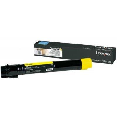Тонер-картридж для лазерных аппаратов Lexmark C950X2YG желтый (C950X2YG)Тонер-картриджи для лазерных аппаратов Lexmark<br>для C950<br>