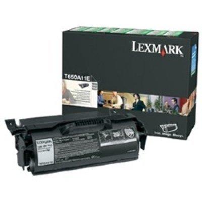 Тонер-картридж для лазерных аппаратов Lexmark T650A11E (T650A11E)Тонер-картриджи для лазерных аппаратов Lexmark<br>для T65x (7 000 стр)<br>