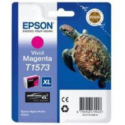 Картридж для струйных аппаратов Epson C13T15734010 пурпурный (C13T15734010)Картриджи для струйных аппаратов Epson<br>для Stylus Photo R3000 (850стр) vivid<br>