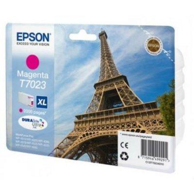 Картридж для струйных аппаратов Epson C13T70234010 пурпурный (C13T70234010) кресло шезлонг фея релакс 2 мульти позиционный
