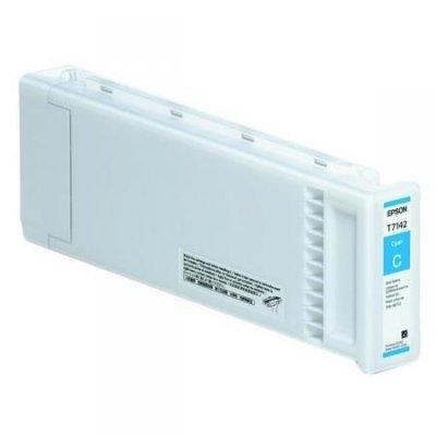 Картридж для струйных аппаратов Epson C13T714200 голубой (C13T714200) картридж для струйных аппаратов epson t8392 голубой повышенной емкости для wf r8590 c13t839240