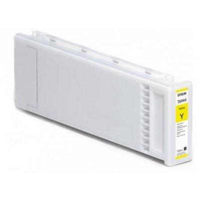 Картридж для струйных аппаратов Epson C13T694400 желтый (C13T694400)Картриджи для струйных аппаратов Epson<br>для SC-T3000/T5000/T7000 UltraChrome XD Yellow T694400 700 мл<br>