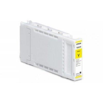 Картридж для струйных аппаратов Epson C13T693400 желтый (C13T693400)Картриджи для струйных аппаратов Epson<br>SC-T3000/T5000/T7000 UltraChrome XD<br>