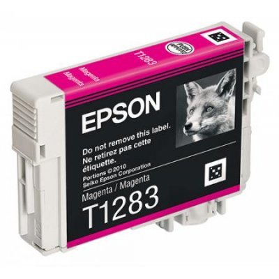 Картридж для струйных аппаратов Epson C13T12834011 T1283 пурпурный (C13T12834011)Картриджи для струйных аппаратов Epson<br>для S22/SX125.<br>