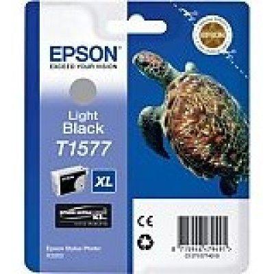 Картридж для струйных аппаратов Epson C13T15774010 черный (C13T15774010)Картриджи для струйных аппаратов Epson<br>light black для Stylus Photo R3000 (850стр)<br>