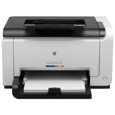 Цветной лазерный принтер HP LaserJet Pro CP1025nw (CE918A) (CE918A)Цветные лазерные принтеры HP<br>A4, 600x600dpi, 16(4) ppm, 64Mb, 1 tray 150, 1y warr, 4 Cartridges 500pages&amp;amp;USB cable 1m in box, USB/LAN/Wireless, replace CC376A, CE914A)<br>