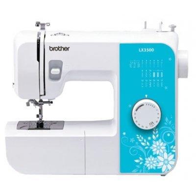 Швейная машина Brother LX-3500 белый (LX-3500 белый) швейная машина brother lx 3500 белый