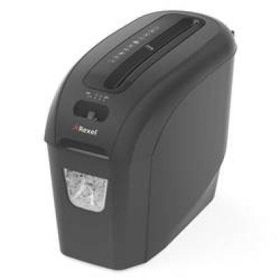 Шредер Rexel ProStyle+ S/C продольной резки, для персонального использования (2104004EU) (2104004EU)Шредеры Rexel<br>Идеально подходящий для использования дома или в офисе суперкомпактный шредер ProStyle+ обеспечивает общий уровень безопасности с помощью простой, но эффективной продольной резки. Он принимает 7 листов за раз и имеет компактную 8-литровую корзину, которую легко опустошать. Уровень секретности 1.<br>