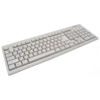 Клавиатура Gembird KB-8300U-RUSB белый (KB-8300U-R) клавиатура gembird kb 8300u bl r usb чёрная