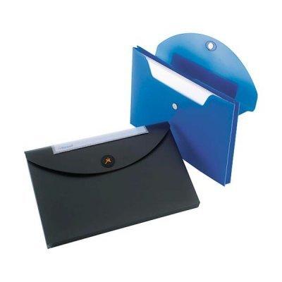 Конверт для документов Rexel Optima, A4, синяя (5шт.) (2102478) (2102478)Папки канцелярские Rexel<br>Если вам необходимо хранить или переносить до 50 листов, то вам идеально подойдет стиль конверта для документов. Эта легко моющаяся пластиковая папка надежно противостоит повседневному износу, в том числе и проливному дождю, гарантируя целость и сохранность бумаг. Конверт для документов открывается  ...<br>