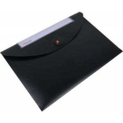 Папка Rexel Optima пластиковая, для документов, A4, черная (3шт.) (2102479) (2102479) кулер для процессора zalman cnps8x optima cnps8x optima