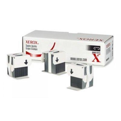 Комплект картриджей со скрепками Xerox 008R12915 (008R12915)Картриджи со скрепками Xerox<br>Скрепки для Офисного финишера-степлера (3x5000 шт)<br>WC Pro 123-133/7228-7245/7328-7345<br>