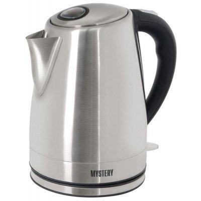 Электрический чайник Mystery MEK-1632 (MEK-1632)Электрические чайники Mystery<br>чайник<br>объем 1.7 л<br>мощность 1850 Вт<br>закрытая спираль<br>установка на подставку в любом положении<br>стальной корпус<br>индикация включения<br>