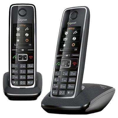 Радиотелефон Gigaset C530 DUO черный (L36852-H2512-S301) телефон gigaset c530
