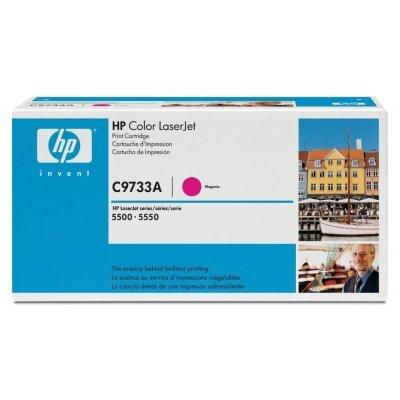 Картридж HP (C9733A) к HP CLJ 5500/5550 (12000 стр.), пурпурный (C9733A)