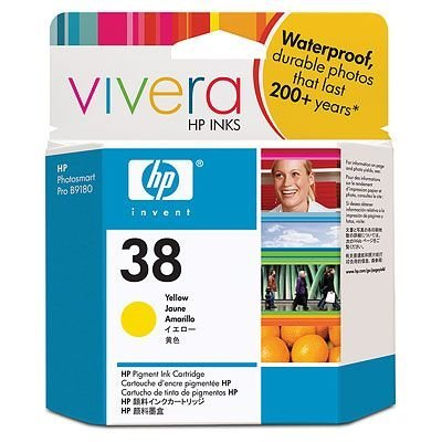 Картридж HP № 38 (C9417A) для Photosmart pro B9180 желтый (C9417A)