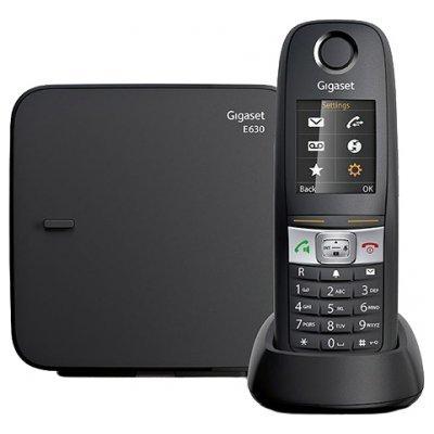 Радиотелефон Gigaset E630 черный (E630) дополнительная трубка gigaset a220h для a220