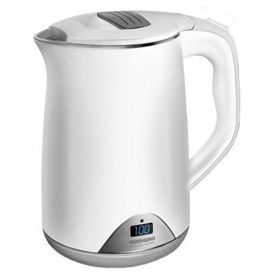 Электрический чайник Redmond RK-M125D (RK-M125D)Электрические чайники Redmond<br>чайник<br>объем 1.5 л<br>мощность 1500 Вт<br>закрытая спираль<br>установка на подставку в любом положении<br>корпус из стали и пластика<br>ненагревающийся корпус<br>
