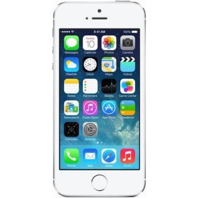 Смартфон Apple iPhone 5S 16Gb серебристый (ME433RU/A)Смартфоны Apple<br>смартфон на платформе iOS<br>сенсорный экран мультитач (емкостный)<br>диагональ экрана 4, разрешение 640x1136<br>камера 8 МП, светодиодная вспышка, автофокус<br>память 16 Гб, без слота для карт памяти<br>поддержка Bluetooth, Wi-Fi, 3G, LTE, GPS, ГЛОНАСС<br>вес 112 г, ШxВxТ 58.60x123.80x7.60 мм, акк. 1560  ...<br>