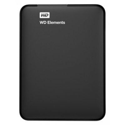 Внешний жесткий диск 2Tb Western Digital WDBU6Y0020BBK черный (WDBU6Y0020BBK-EESN)Внешние жесткие диски Western Digital<br>USB 3.0 Elements 2.5<br>
