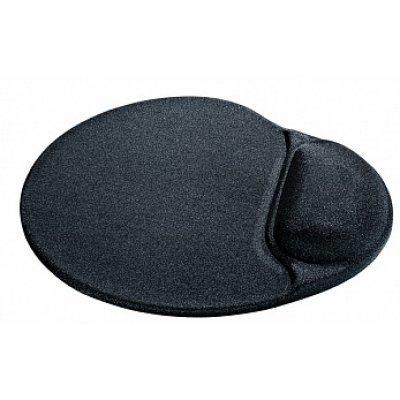 Коврик для мыши Defender OLD-0209259 черный (OLD-0209259) коврик для мыши defender гелевый easy work ergo черная лайкра нескользящ основа 260х225х5мм 50905