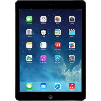 Планшетный ПК Apple iPad Air 16Gb Wi-Fi + Cellular (MD791) серый (MD791RU/A)Планшетные ПК Apple<br>9.7&amp;amp;#039;&amp;amp;#039; QXGA(2048x1536) IPS/A7/16GB/3G+LTE/GPS+GLONASS/WiFi n/BT4.0/Lightning/1.2MP+5.0MP/32.40Wh/10.0h/478g/iOS7/1Y/SPACE GRAY<br>
