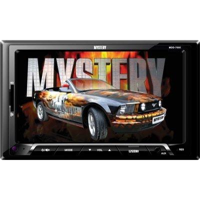 Автомагнитола Mystery MDD-7005 (MDD-7005)Автомагнитолы Mystery<br>автомагнитола 2 DIN<br>воспроизведение MP3, MPEG4<br>сенсорный дисплей 7<br>макс. мощность 4 x 50 Вт<br>воспроизведение с USB-накопителя<br>аудиовход на передней панели<br>радиоприемник  с RDS<br>