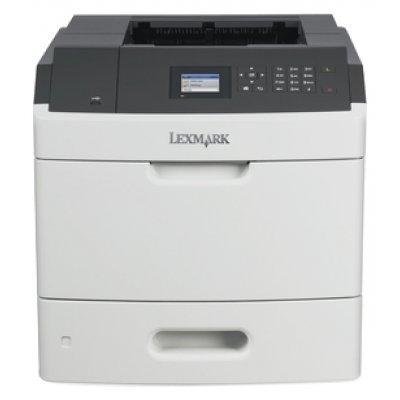 Монохромный лазерный принтер Lexmark MS812dn белый (40G0330)Монохромные лазерные принтеры Lexmark<br>лазерный, A4, монохромный, ч.б. 66 стр/мин, печать 1200x1200, лоток 550+100 листов, USB, двусторонний автоподатчик, сеть<br>