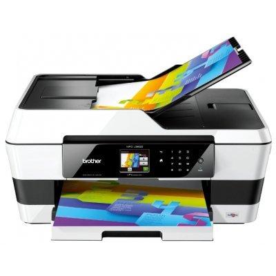 Цветной струйный МФУ Brother MFC-J3520 (MFCJ3520R1)Цветные струйные МФУ Brother<br>принтер/сканер/копир/факс, A3, 22/20 стр/мин, дуплекс, ADF A3, USB, L<br>