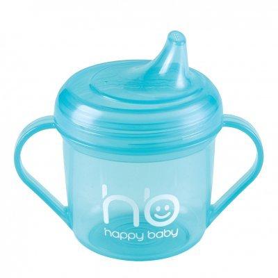 Поильник детский Happy Baby Drink Up с ручкой 170мл. голубой (Drink UP с ручкой 170мл 14001new  blue)