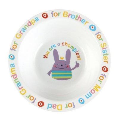Тарелка Happy Baby Rusty Champion (для кормления RUSTY-CHAMPION)Тарелки Happy Baby<br>Широкие удобные края<br>Можно разогревать в СВЧ–печи<br>Можно мыть в посудомоечной машине<br>