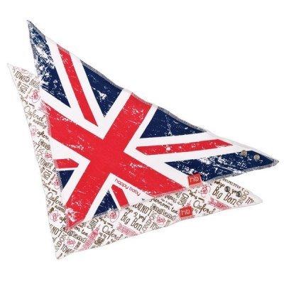 Нагрудник Happy Baby набор слюнявчиков British Desing (слюнявчиков BRITISH DESING)