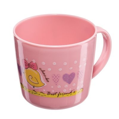 Чашка детская BABY MUG 200мл. розовый (BABY MUG 200мл. 15006 pink)