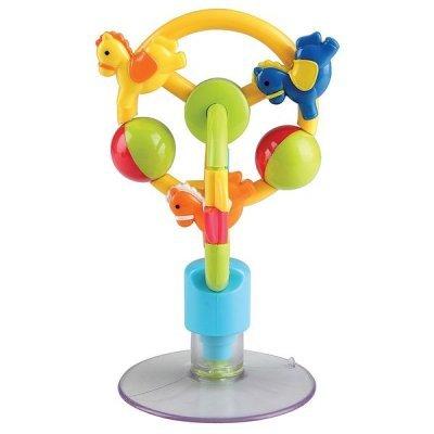 Игрушка развивающая Happy Baby карусель настольная на присоске (Карусель настольная на присоске CAROUSEL)Игрушки развивающие Happy Baby<br>Развивает: слух и зрение; мелкую моторику и цветовое восприятие; творческое мышление; познавательный интерес<br>