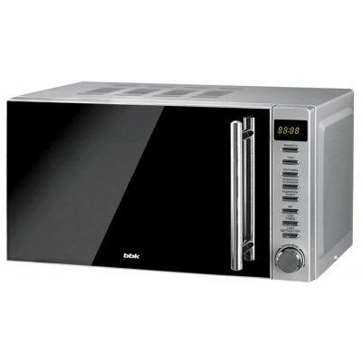 Микроволновая печь BBK 20MWS-721T/BS-M (20MWS-721T/BS-M/RU)Микроволновые печи BBK<br>20 литров соло, тактовое управление, 700 Вт, зеркальная дверь<br>