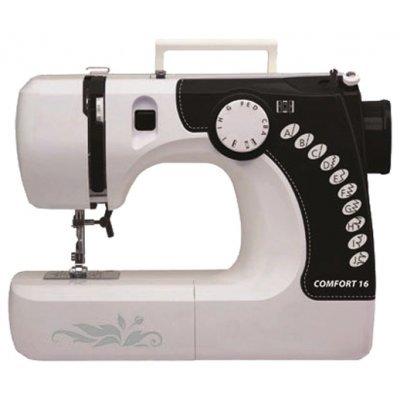 Швейная машина Comfort 16 (Comfort 16)Швейные машины Comfort<br>14 операций, верт. челнок, выметывание петли (аналог Janome)<br>