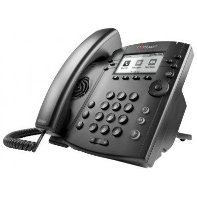 VoIP-телефон Polycom VVX 300 (2200-46135-114) телефон нокиа черно белый в кривом роге