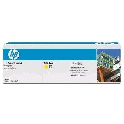 Тонер-картридж для лазерных аппаратов HP CB382YC желтый (CB382YC)Тонер-картриджи для лазерных аппаратов HP<br>CLJ CM6030/CM6040 (25000стр.) в технологической упаковке<br>
